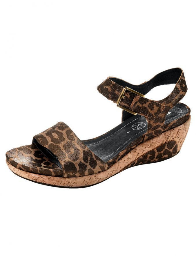 Ara Sandaletit Ruskea / Leopardi