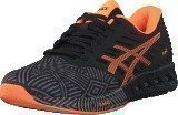 Asics Fuzex Aluminum / Hot Orange / Black