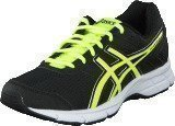Asics GEL-GALAXY 8 GS Black/Flash Yellow/White