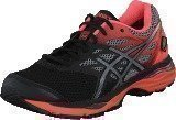 Asics Gel-Cumulus 18 G-Tx Black / Silver / Flash Coral