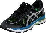 Asics Gel-Kayano 22 Black/Silver/Yellow