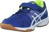 Asics Pre-Upcourt Ps Asics Blue/White/Safety Yellow