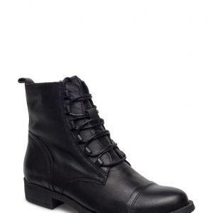 Bianco Boot W/Lace Effect Jja16