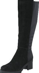 Bianco Chunky Long Boot JJA16 Black