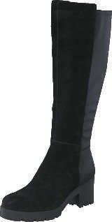 Bianco Chunky Long Boot JJA16 Black