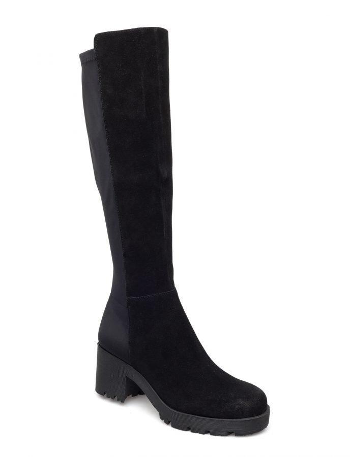 Bianco Chunky Long Boot Jja16