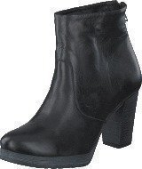 Bianco Clean Platform Boot Black