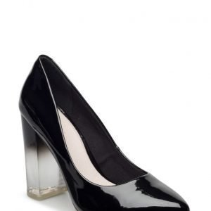 Bianco Clear Heel Pump Exp16