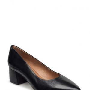 Bianco Court Shoe Exp16