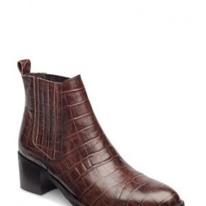 Bianco Cp Croco Ankle Boot Son15
