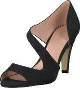 Bianco Cross Over Pump Black