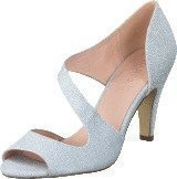 Bianco Cross Over Pump Silver