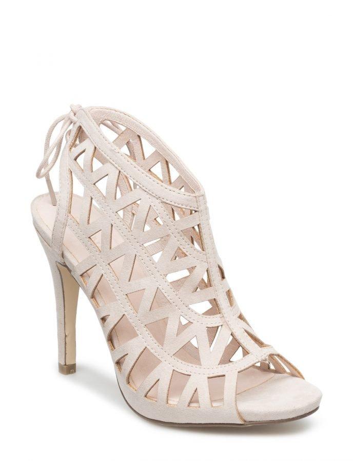 Bianco Cutout Stiletto Sandal Jja16