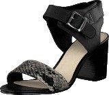 Bianco Fame Leather Sandal