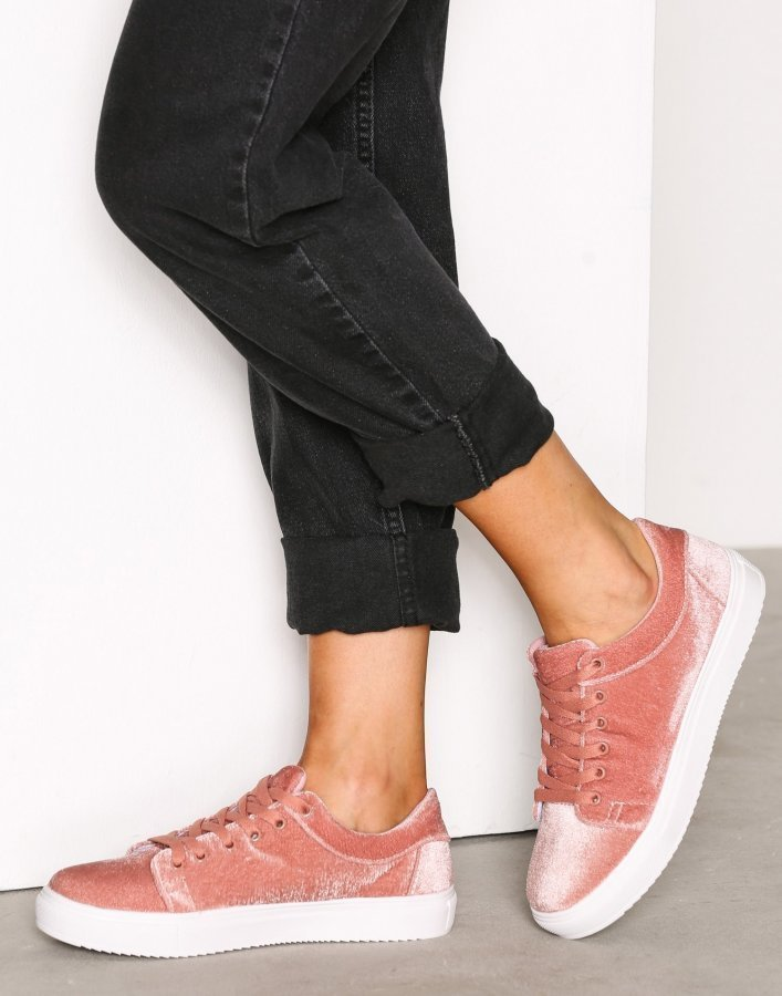 Bianco Laced Casual Shoe Tennarit Rose