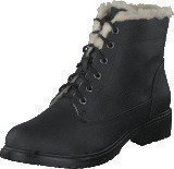 Bianco Laced Up Warm Boot Black