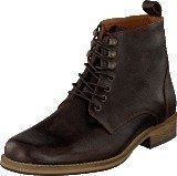 Bianco Lether Dressy Boot Dark Brown