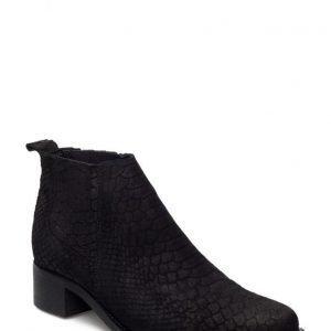 Bianco Low Cut Reptile Boot Son16