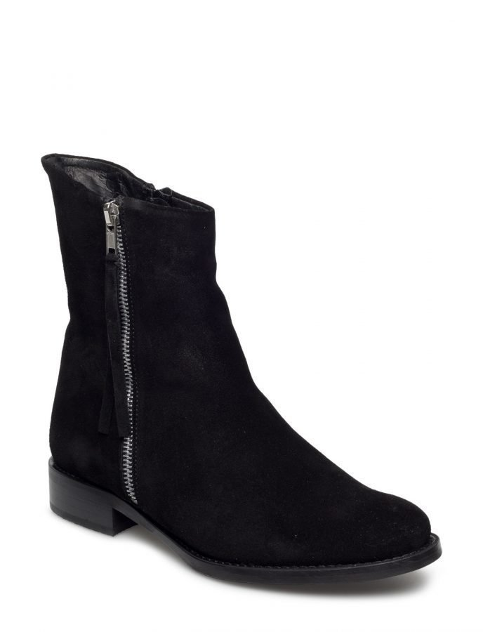 Bianco Mid Cut Suede Boot Son16