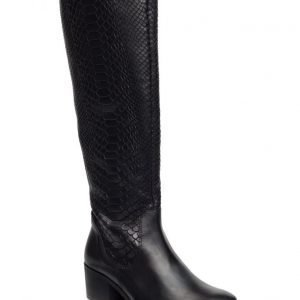 Bianco Reptil Long Boot