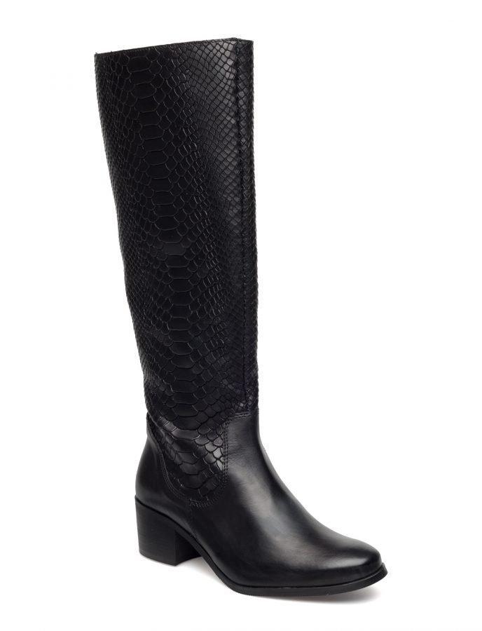 Bianco Reptil Long Boot