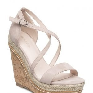 Bianco Simple Wedge Sandal Mam16