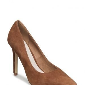 Bianco Suede Basic Pump Son16