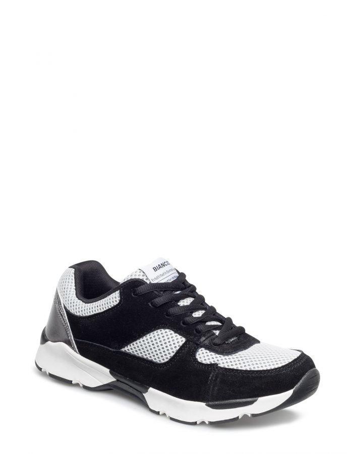 Bianco Suede Mix Sneaker Djf16