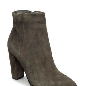 Bianco Suede Pointy Boot Son16