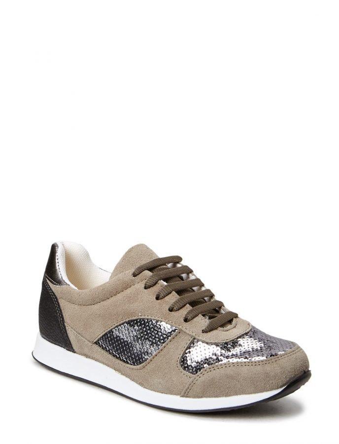 Bianco Suede Sneaker Jja15