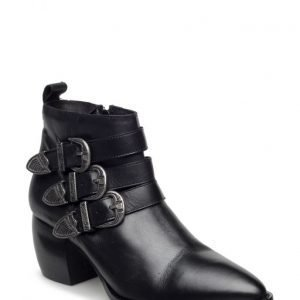 Bianco Triple Buckle Boot