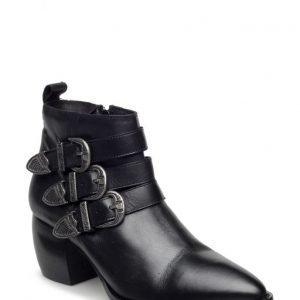 Bianco Triple Buckle Boot