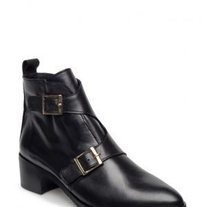 Bianco Twin Buckle Boot Son16