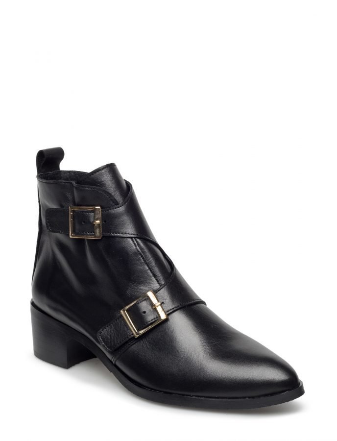 Bianco Twin Buckle Boot Son16