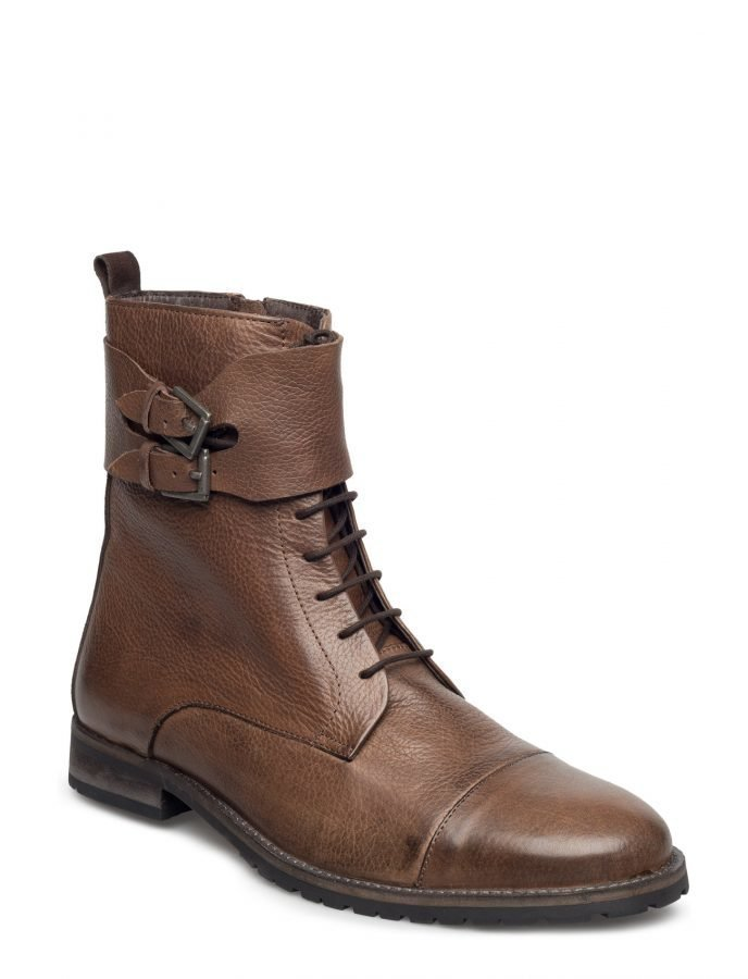 Bianco Warm Buckle Boot Son16