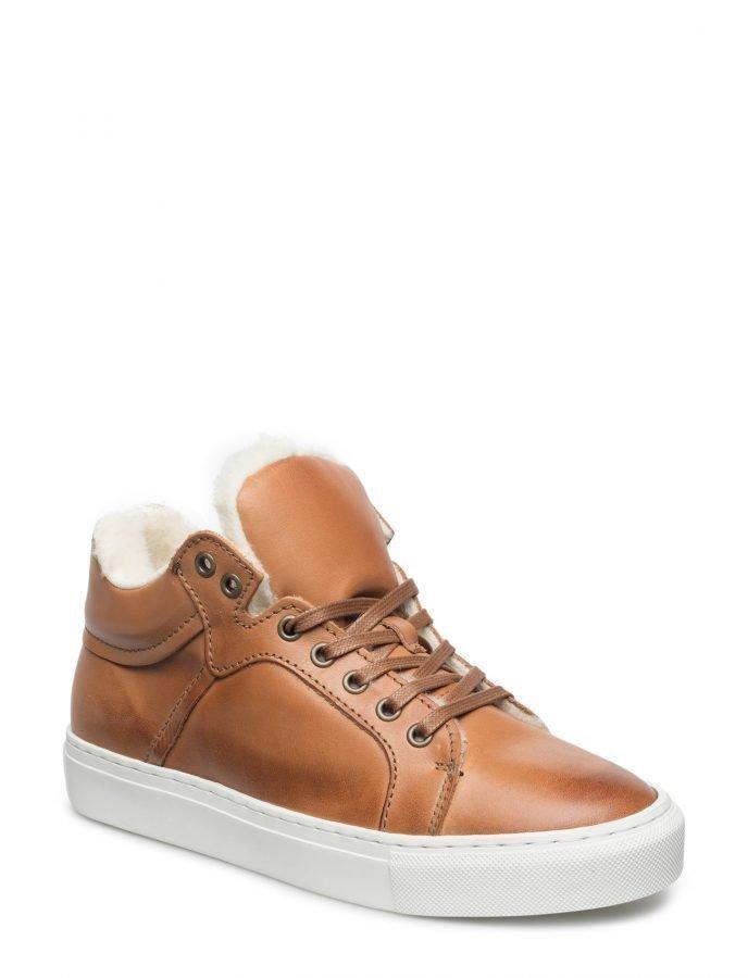 Bianco Wool Sneaker Boot Jja16