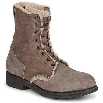 Bikkembergs VINTAGE LEATHER FUR bootsit