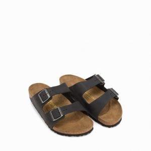 Birkenstock Arizona Sandaalit Musta