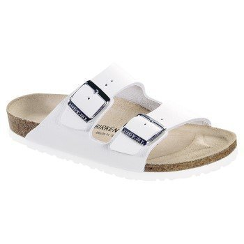 Birkenstock Arizona White Nahka