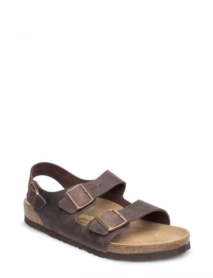 Birkenstock Bs Milano Blk Nat Leather