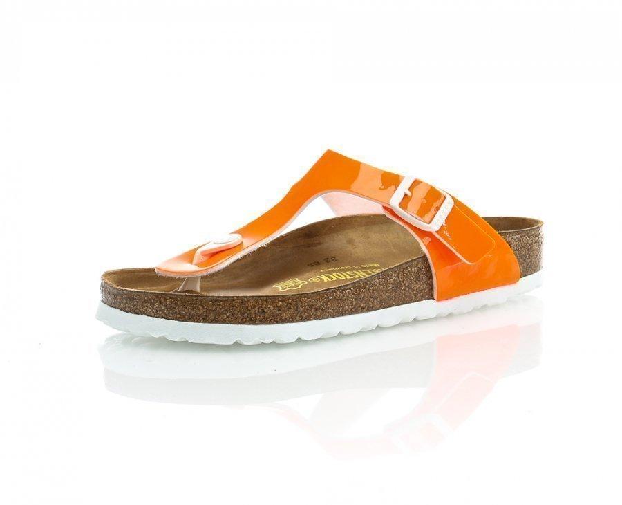 Birkenstock Gizeh Tohvelit Oranssi