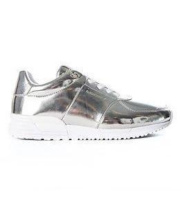 Björn Borg Sneaker R100 Low Met Silver