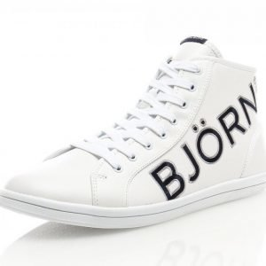 Björn Borg Sven Ii M Nahkatennarit Valkoinen / Sininen