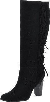Black Lily Rodeo Boot Black