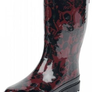 Black Premium by EMP Skull Rubber Boot Kumisaappaat
