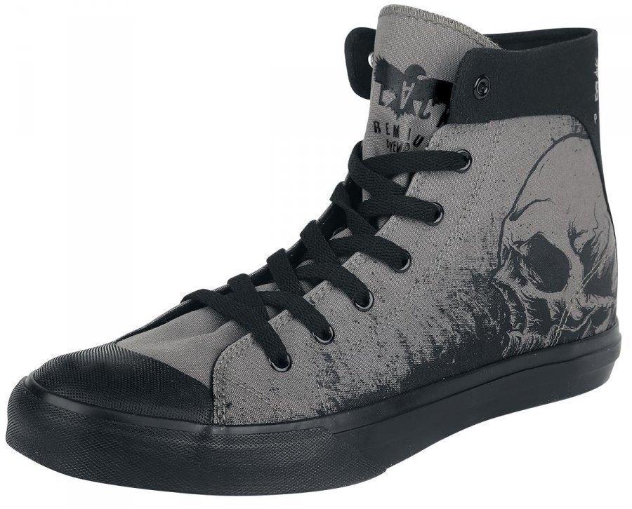Black Premium by EMP Skull Sneaker Varsitennarit
