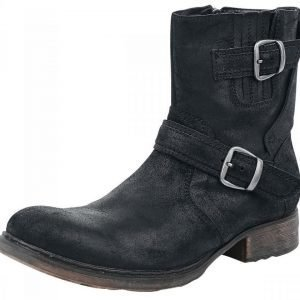 Black Premium by EMP Suede Boots Varsikengät