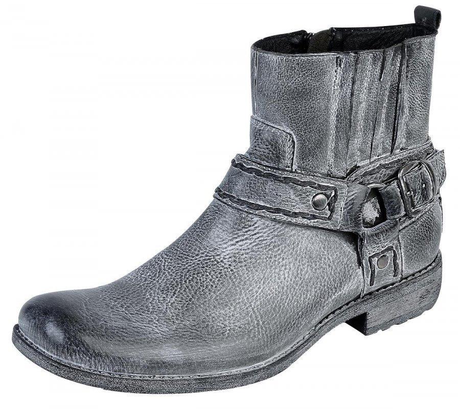 Black Premium by EMP Vintage Spray Boot Varsikengät