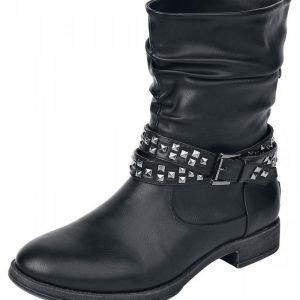 Black Premium by EMP Wrinkles Boot Varsikengät