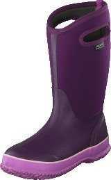 Bogs Classic High Handle Solid Purple